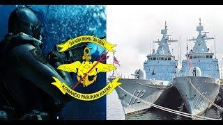 Video HANYA 3 KOPASKA Buat 2 Kapal Perang Malaysia Kocar Kacir Di Perbatasan MP3, 3GP, MP4, WEBM, AVI, FLV Januari 2019