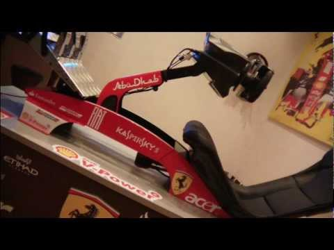 the red  f1 simulator.wmv