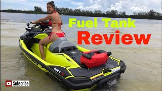10. 2018 Sea-Doo RXT-X 300 Fuel Caddy Review