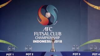 Video AFC Futsal Club Championship Indonesia 2018 - Final Draw MP3, 3GP, MP4, WEBM, AVI, FLV Mei 2018