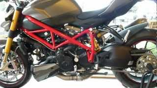 10. Ducati Streetfighter S 1098 155 Hp vs. Ducati Streetfighter 848 132 Hp 2012 * see also Playlist