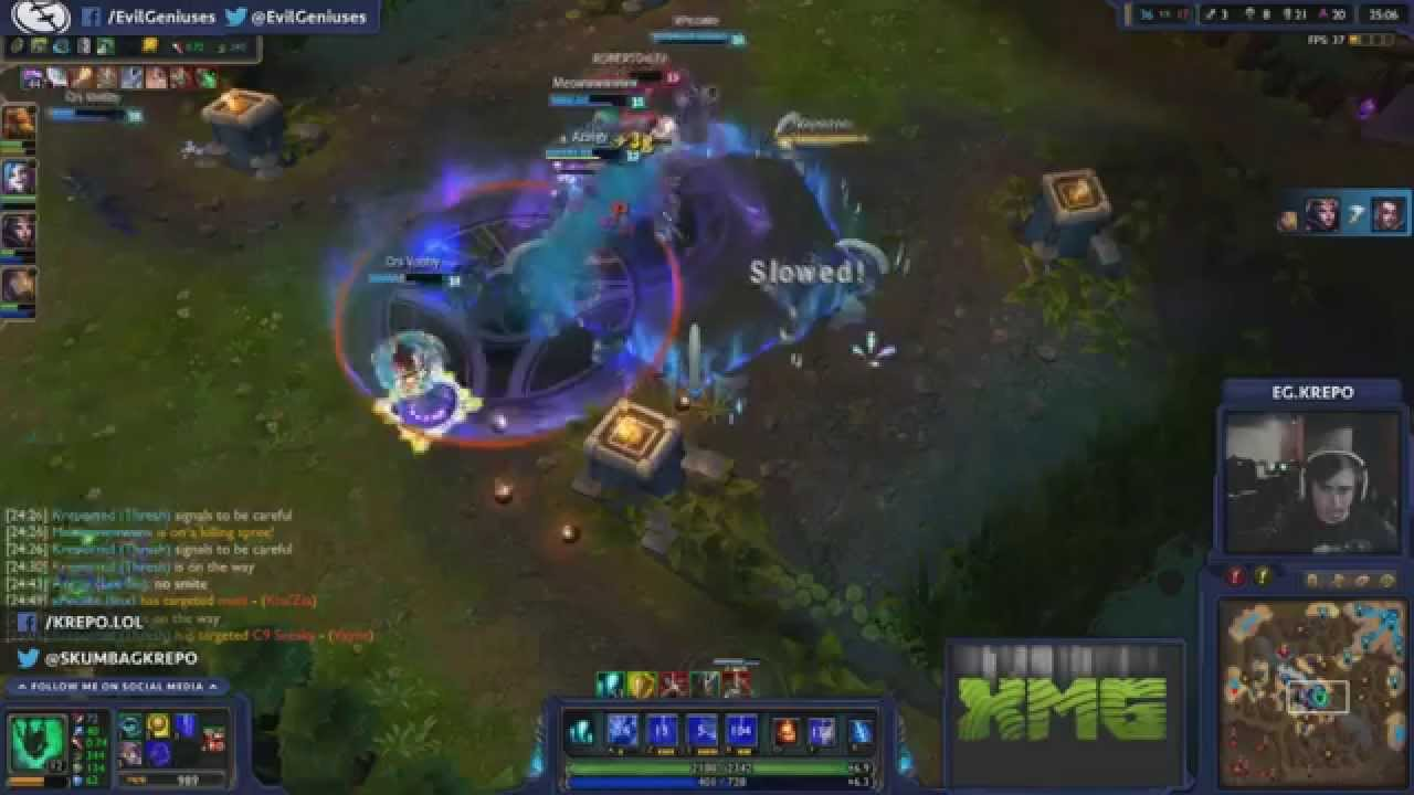 Krepo Madlife mode initiated Highlight