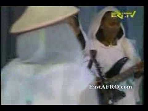 tegadelti - Eritrea Music - Women Band playing Krar, kobero, guitar from Asmara, Eritrea. Eritrea is located in E. Africa. (Africa Music)