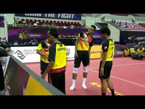 Sepaktakraw [ISS Myanmar] - Malaysia vs Korea
