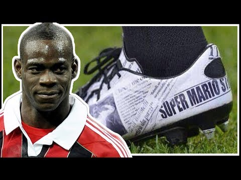 Athlete Motivation – Mario Balotelli's Cleats