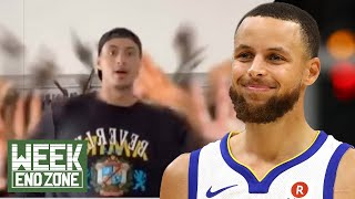 Steph Curry Explains How He Built His Court, Pat Mahomes BULLY'S Gamer & Kuzma's BAD Tik Toks! | W by Obsev Sports