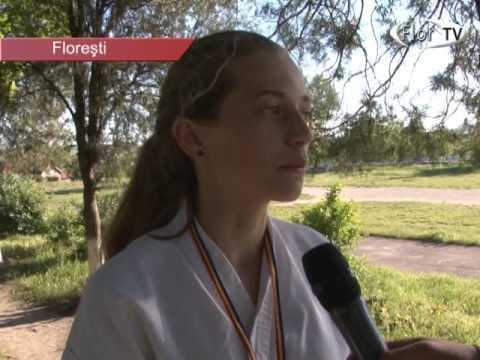Campionatul Moldovei la karate organizat la Florești