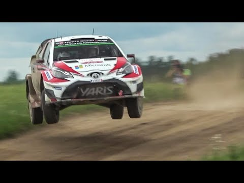 wrc rally polonia 2017 - highlights