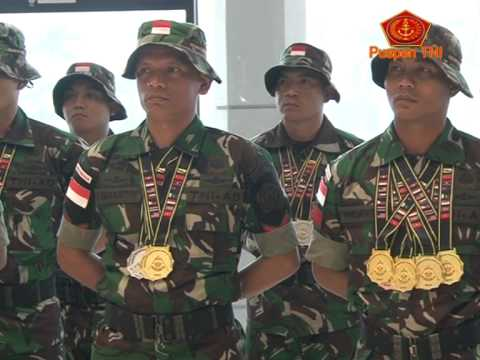 TNI Juara Umum Lomba Tembak BISAM di Brunei