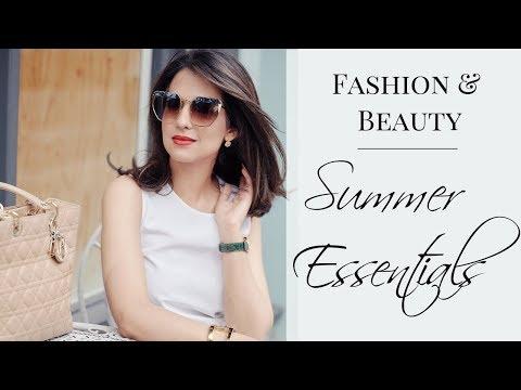 SUMMER ESSENTIALS | Fashion & Beauty | JASMINA PURI видео