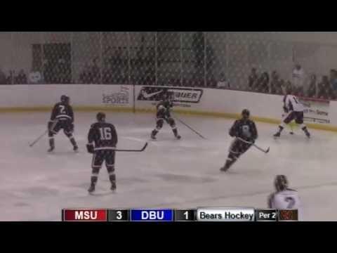 Missouri State Hockey vs Dallas Baptist - Game #2