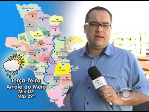 Vídeo Previsão do Tempo 05 10 2015