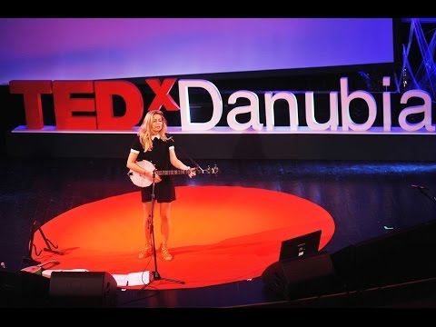 Ukulele, omnichord, kalimba and the girl | Felicia Bozóky | TEDxDanubia 2016