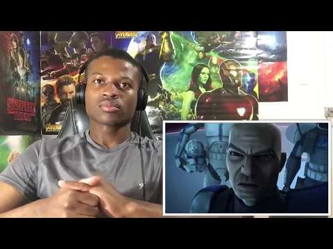 Star Wars  The Clone Wars   Pong Krell's death REACTION!!!
