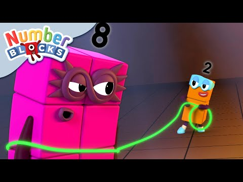 Numberblocks - Octoblock is Captured by the Terrible Twos! | Learn to Count