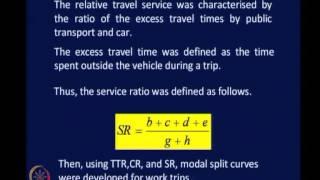 Mod-04 Lec-14 Modal Split Analysis Contd.