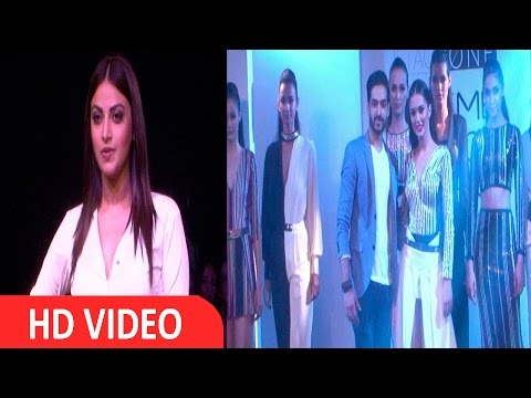 Anushka Ranjan & Amy Jackson On Ramp At LFW 2016
