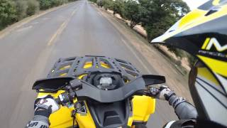 1. Can am outlander 650 Max XT top speed