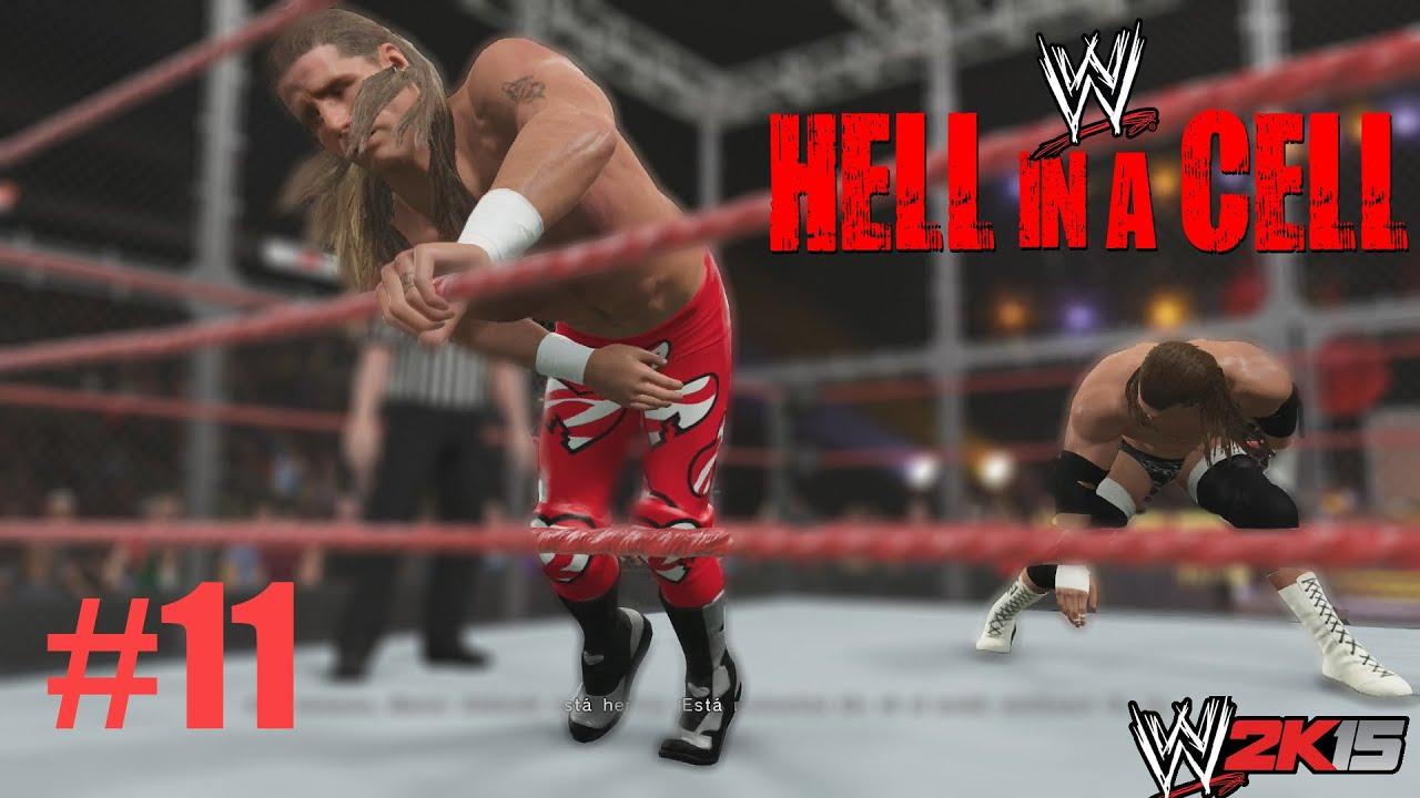 Ver WWE 2K15 Gameplay – Showcase – Celda Infernal – Final Epico – HHH Vs HBK en Español Online