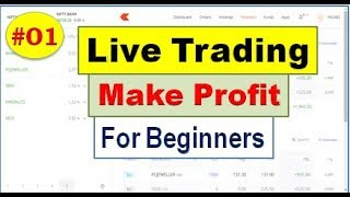 LIVE TRADING#01: Intraday Live Trading For Beginners