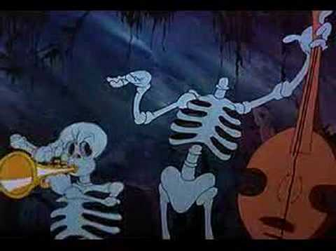 skeleton - a Columbia cartoon, directed by Ub Iwerks.
