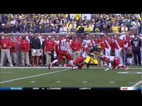 Quinten Rollins Game Highlights vs Michigan 2014 video.