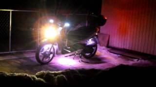 10. SYM HD200 with LED lights