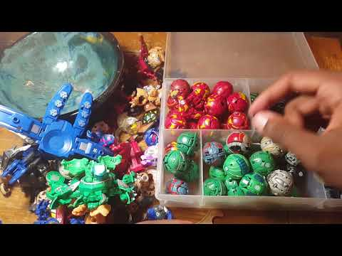 K1MBO'S BAKUGAN COLLECTION PART 1!!