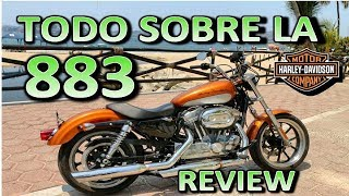 7. Harley Davidson  883 SUPERLOW | Review en Español 😎 Blitz Rider