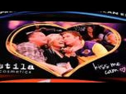 Will Ferrell Videobombs Lakers' Kiss Cam