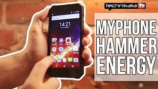 myPhone Hammer Energy - test niesamowicie wytrzymałego smartfona z IP68