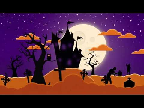 Video Youtube - Motion design - Halloween Night © / Réalisation : Gaël CARMONT