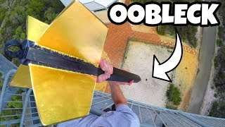 Video GIANT DART Vs. OOBLECK from 45m! download in MP3, 3GP, MP4, WEBM, AVI, FLV January 2017