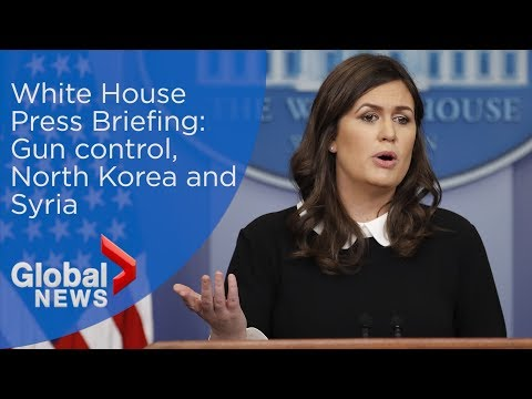 White House Press Briefing: Gun control, North Korea and Syria