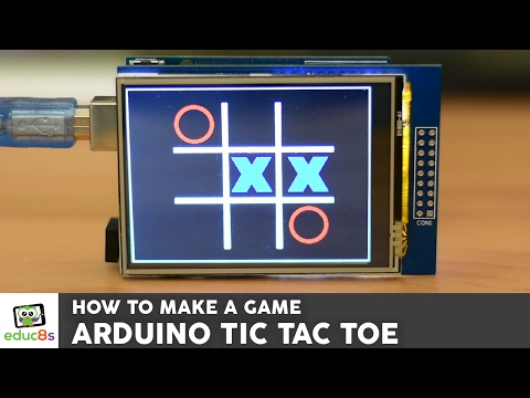 Tic Tac Toe game with touchscreen from Banggood.com