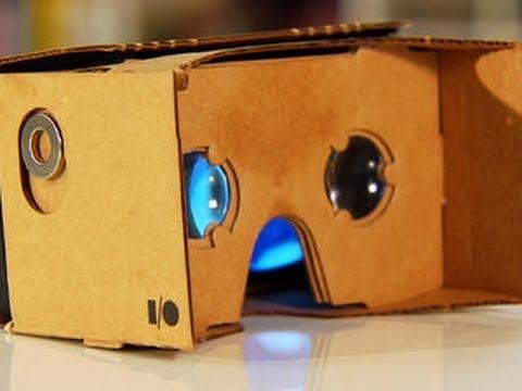 Google crée son propre casque de réalité virtuelle… en carton !