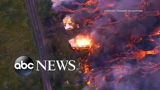Video Video shows lava overtaking Hawaii home MP3, 3GP, MP4, WEBM, AVI, FLV Juli 2018