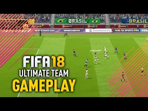 FIFA 18 ULTIMATE TEAM GAMEPLAY!
