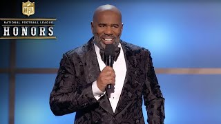 Video Steve Harvey Roasts the NFL's Elite in Opening Monologue | 2019 NFL Honors MP3, 3GP, MP4, WEBM, AVI, FLV Juni 2019