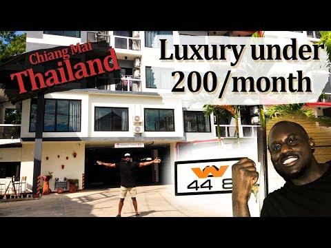 Cheap 199 USD Per Month Chiang Mai, Thailand Apartment