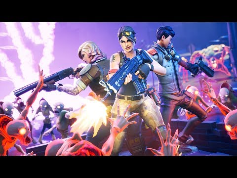 Video ZOMBIE APOCALYPSE!! (Fortnite Save the World) download in MP3, 3GP, MP4, WEBM, AVI, FLV January 2017