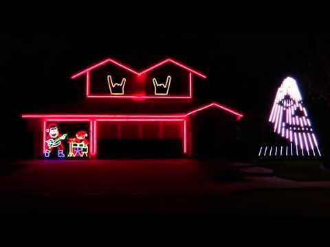 Slipknot Christmas Lights 2015🎅