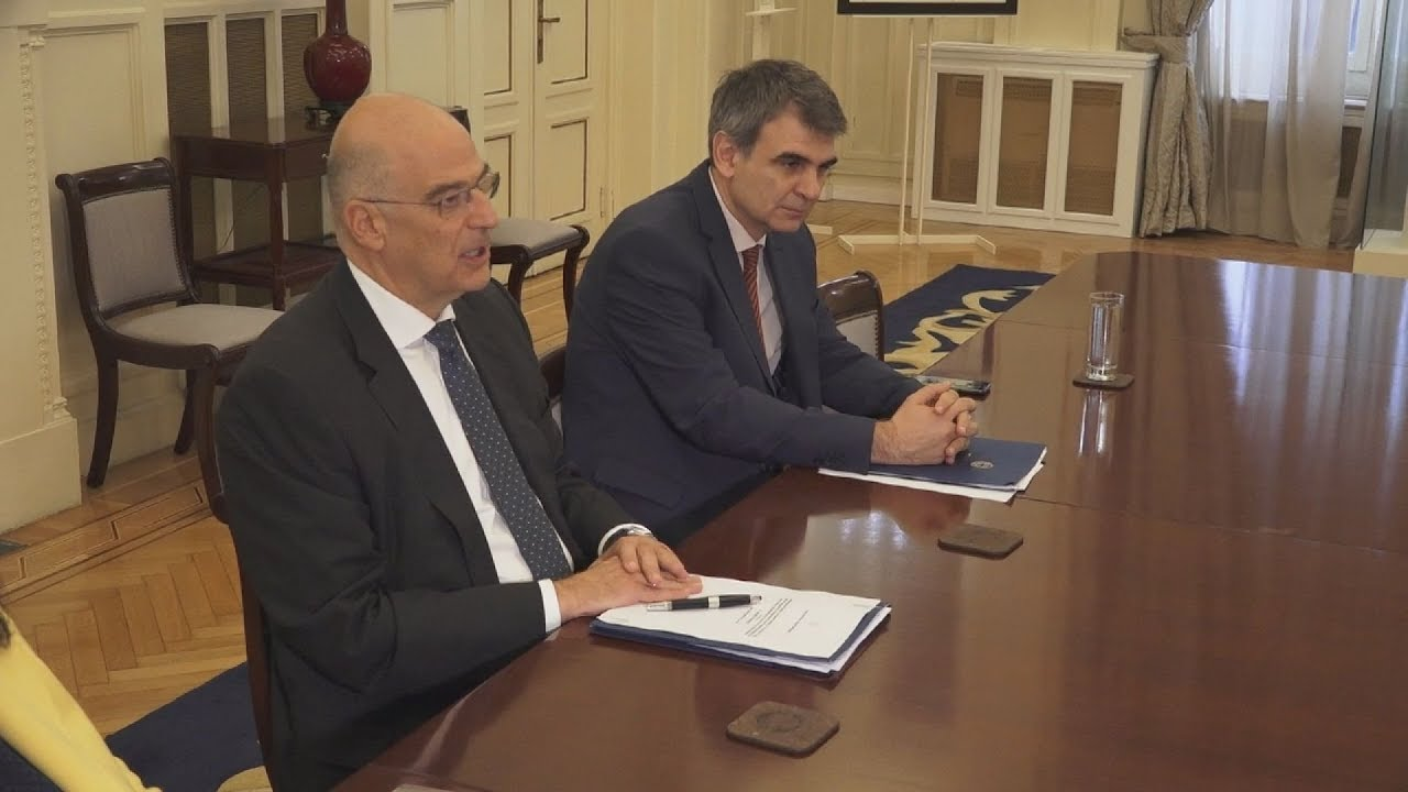 Ν. Δένδιας: Ενημέρωση των κομμάτων για τη Συμφωνία Αμοιβαίας Αμυντικής Συνεργασίας Ελλάδας-ΗΠΑ