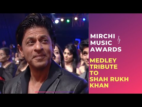Download Romantic medley tribute to Shahrukh Khan by Bollywood Singers | Mirchi Music Awards | Radio Mirchi