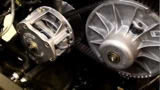 2. Polaris 800 RZR S - EPI Clutch Kit Install