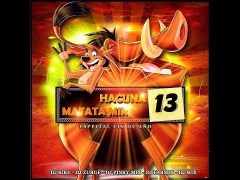 Hakuna Matata Mix 13  - DJ Kike, DJ Mix, DJ Farmix, DJ Zurge y DJ PinkyMix (2013)
