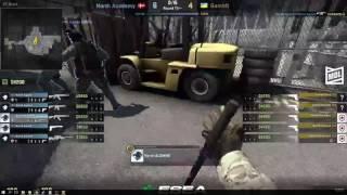 North Academy vs Gambit - ESEA Premier Season 25 EU - de_nuke [Deq]