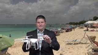DJI Phantom Aerial UAV Drone Quadcopter for GoPro Review