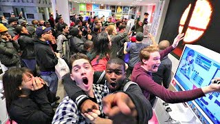 The moment Smash Ultimate was first announced. Live from the only Nintendo store in the world.