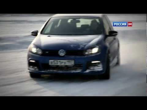 Volkswagen Golf R 5D Тест-драйв Volkswagen Golf R 2012 // АвтоВести 40